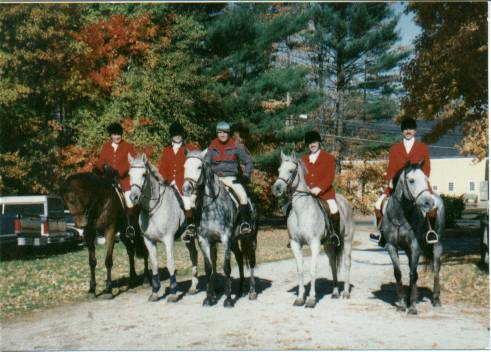 The fastest team ever in the history of pace eventing, got lost three times, somebody fell off and had to chase his horse and they still were the fastest team.