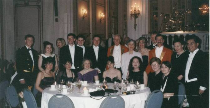 The Nashoba Valley Hunt members and guests at the Hunt Ball at  The Copley,  Boston.